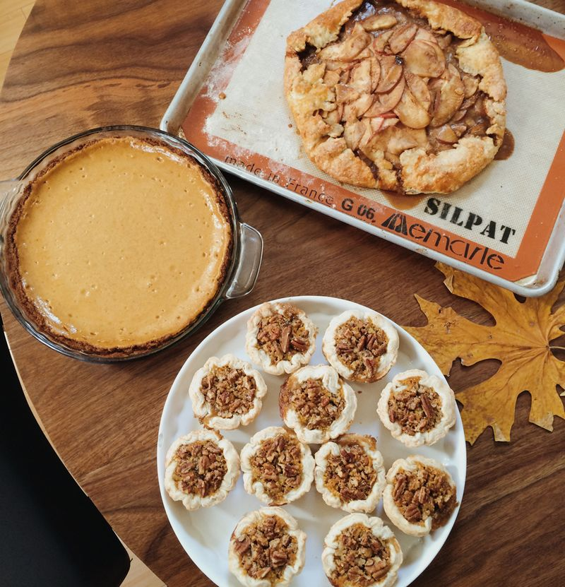 Perfect thanksgiving pie