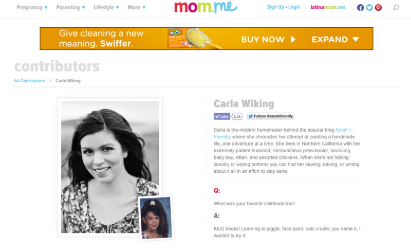Carla Wiking on Mom.me