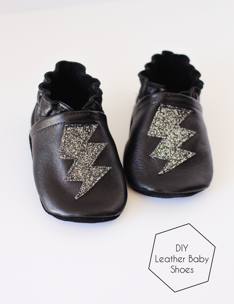 small + friendly  DIY Leather Baby Shoes 255396093848