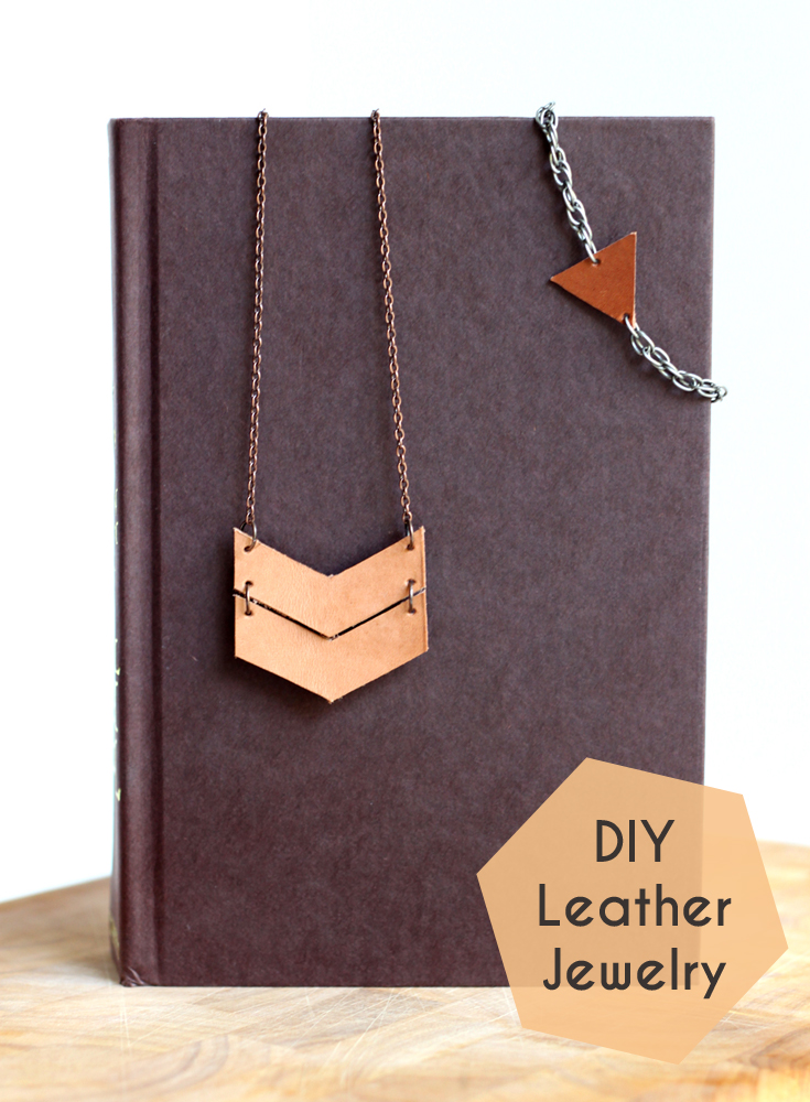 Diy leather jewelry