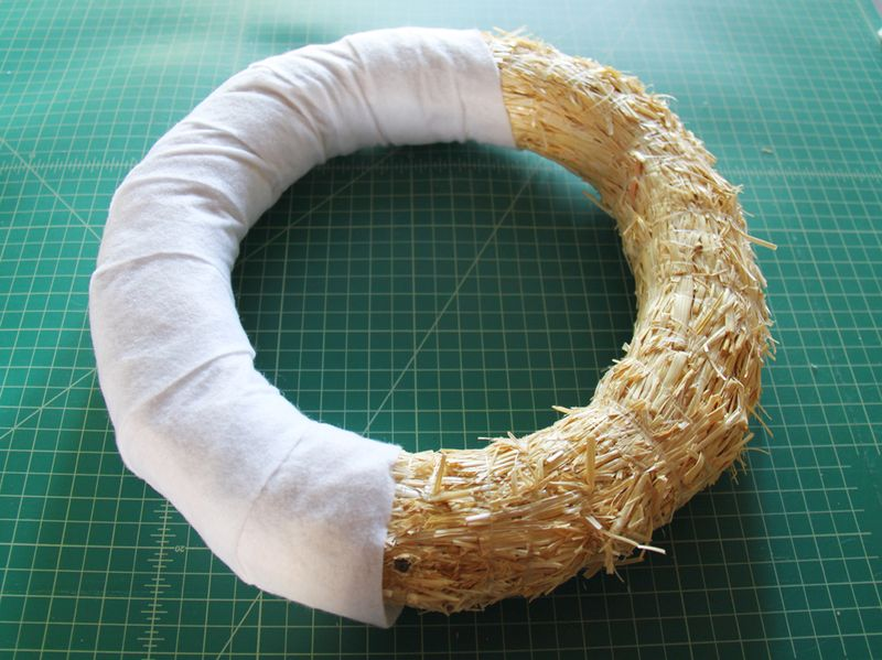 Wrap wreath