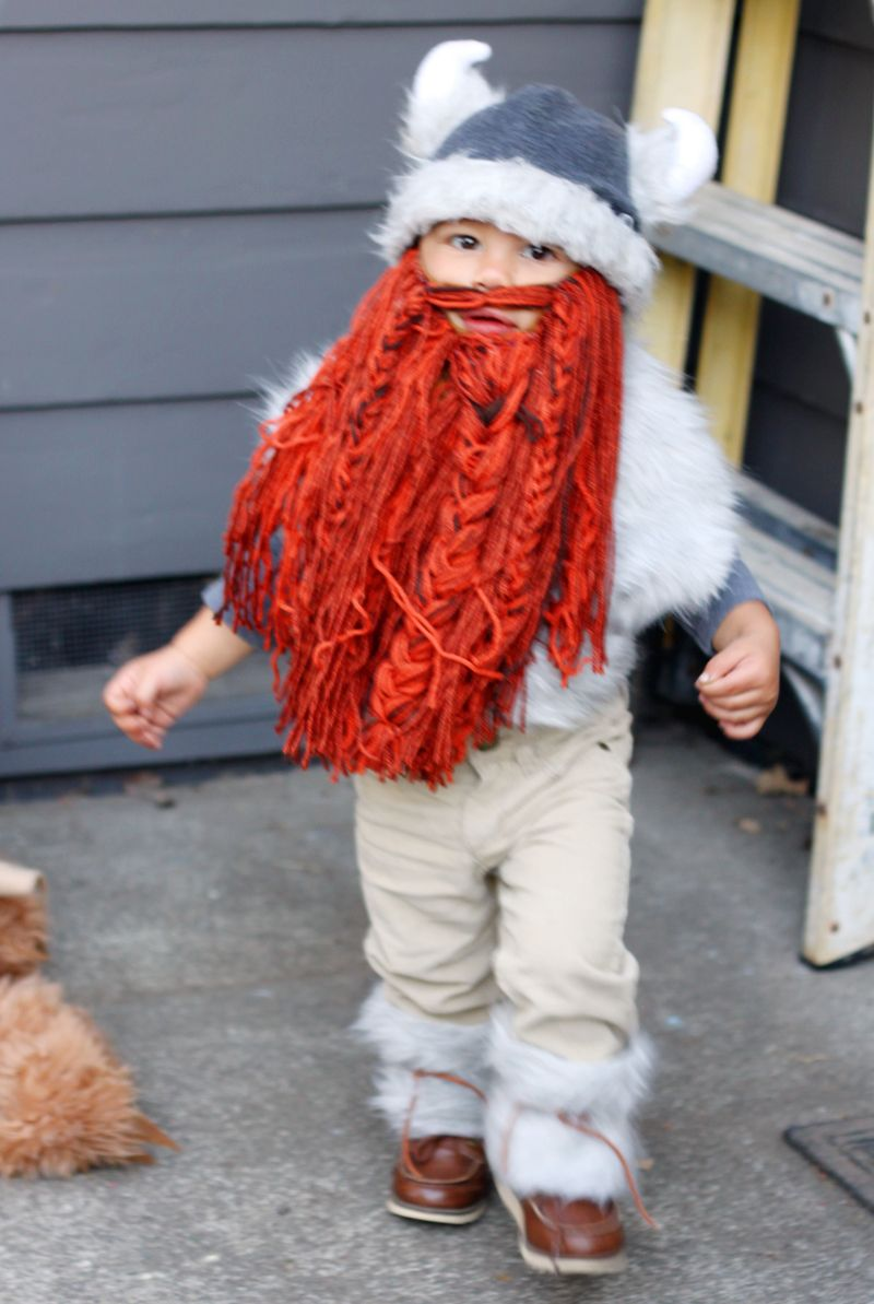 Baby viking costume