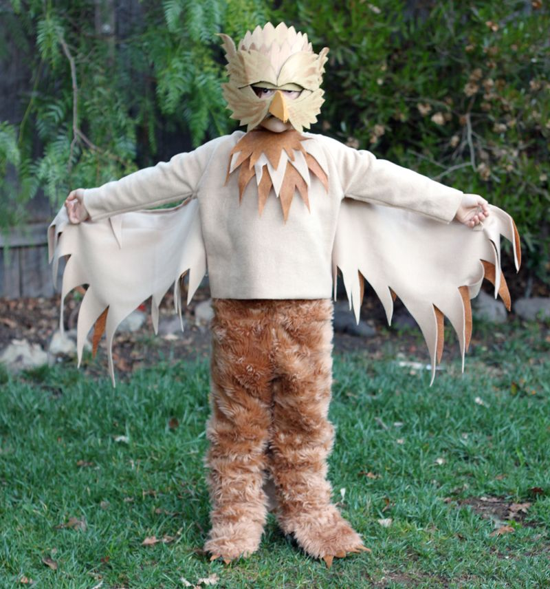 Handmade halloween costume