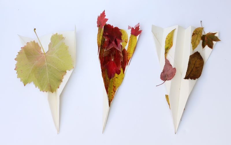 Simple fall leaf craft