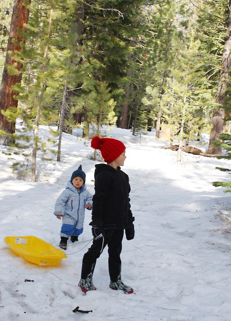 Snow kiddos