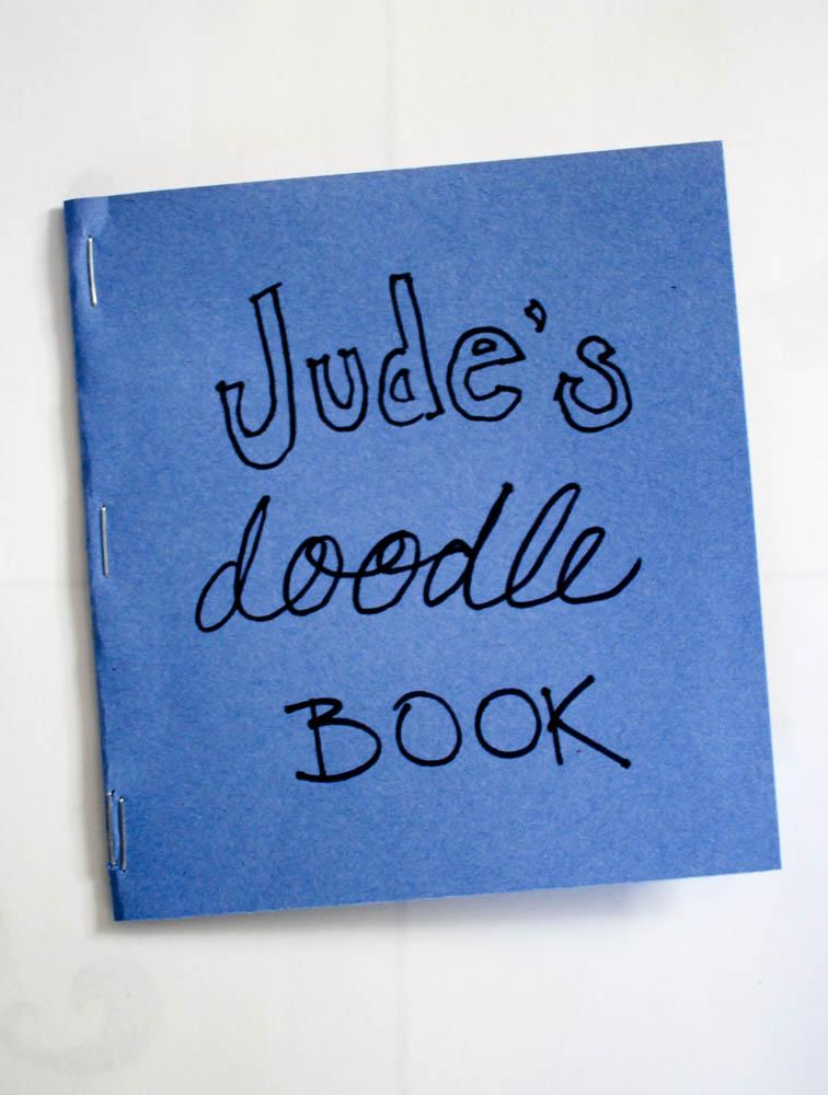Diy doodle book