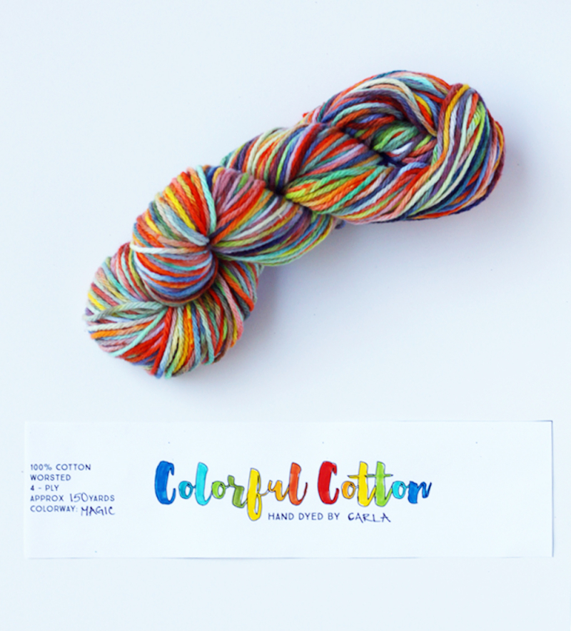 Free printable yarn label