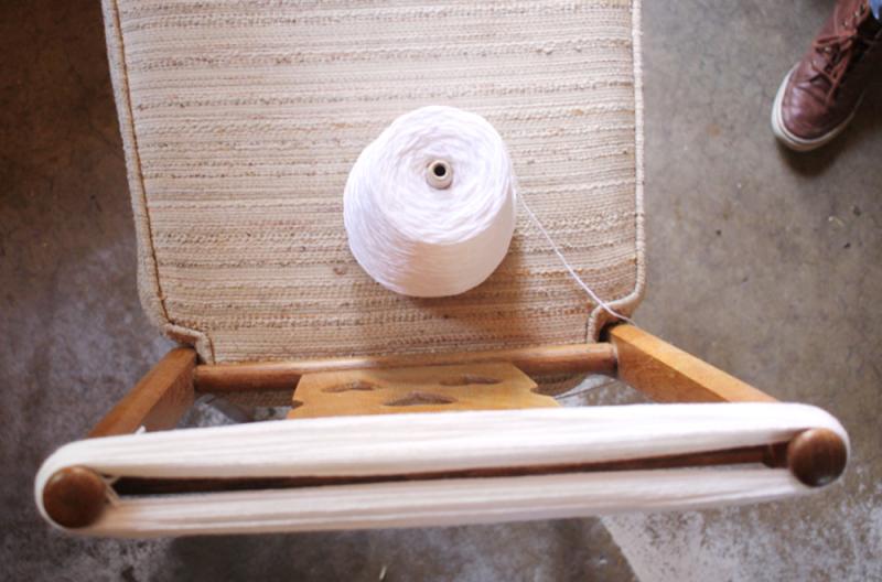 Make a hank of yarn