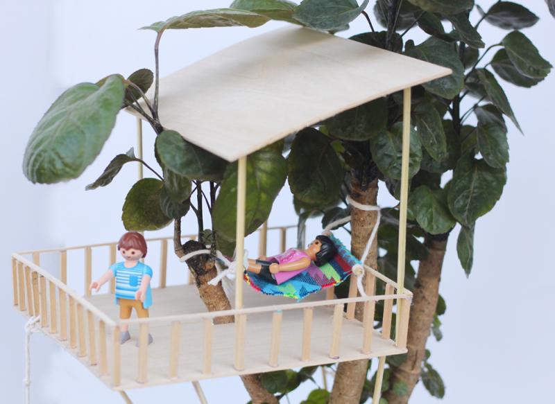 Tiny hammock