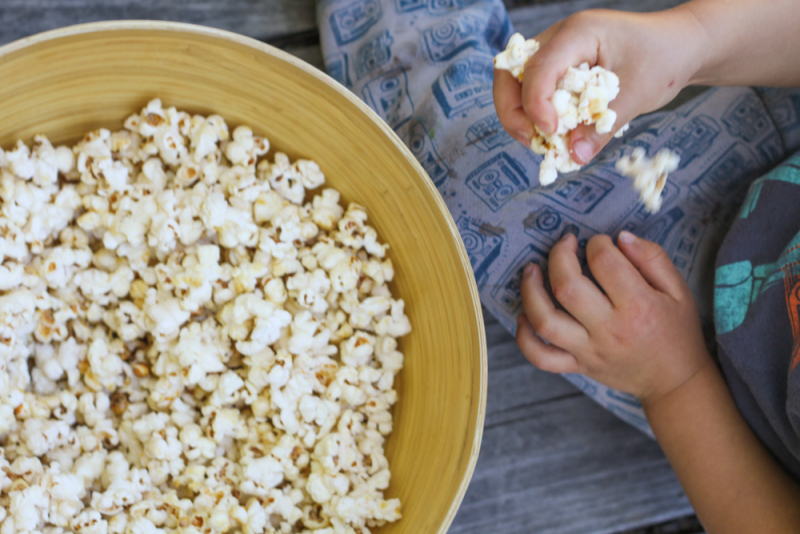 Kid snack kettle corn