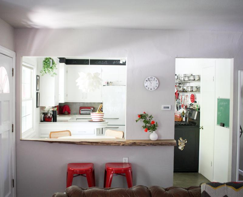 DIY kitchen pass through