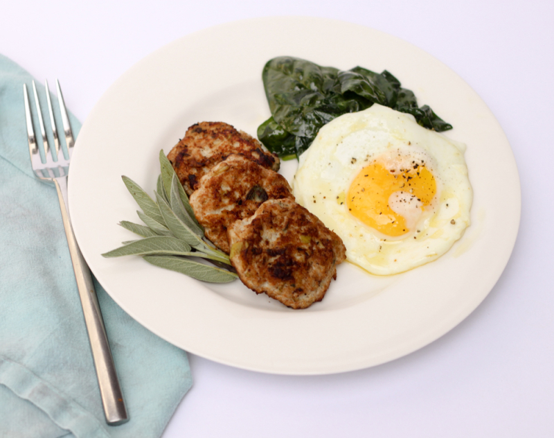 Turkey apple sausage
