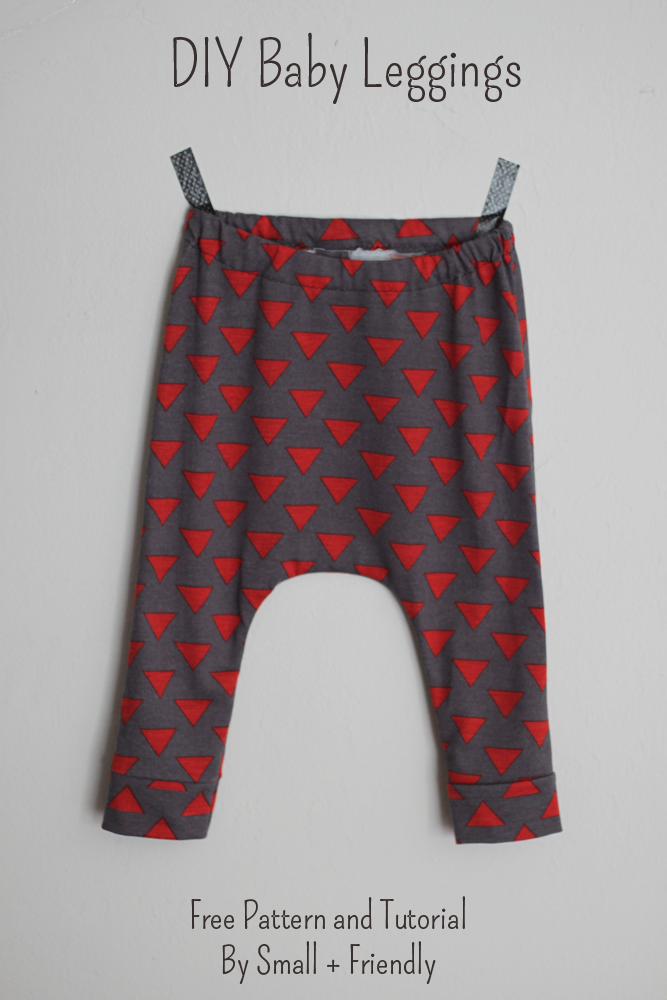 small + friendly: Free Sewing Patterns! Baby Leggings and Shorts