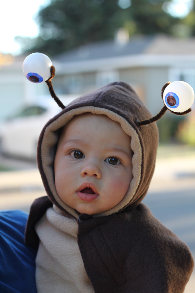 DIY slug costume