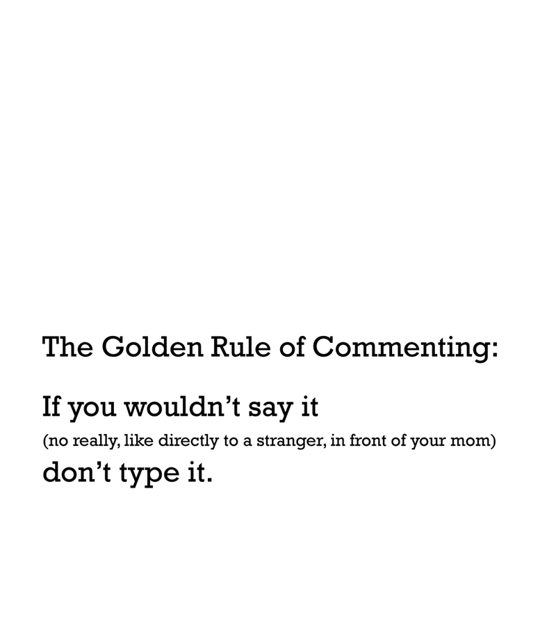The-golden-rule-of-commenting