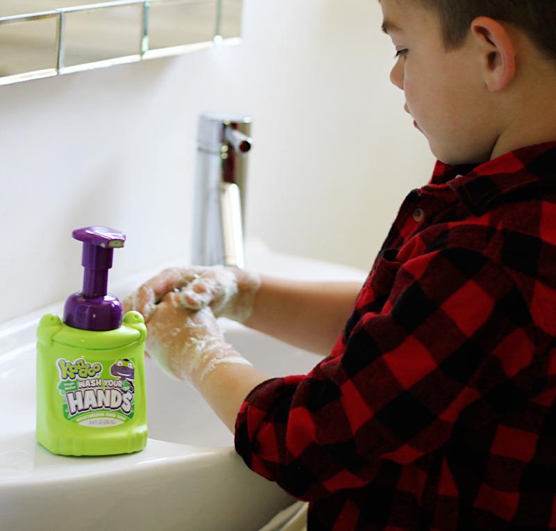 Kid hand soap