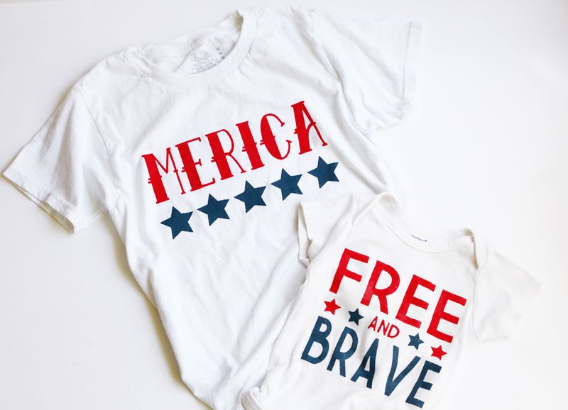 Diy america shirts
