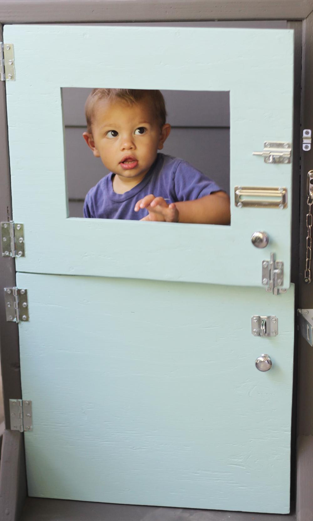 Play door  sc 1 st  Small + Friendly & small + friendly: DIY Mini Dutch Door! A Handmade Activity Toy
