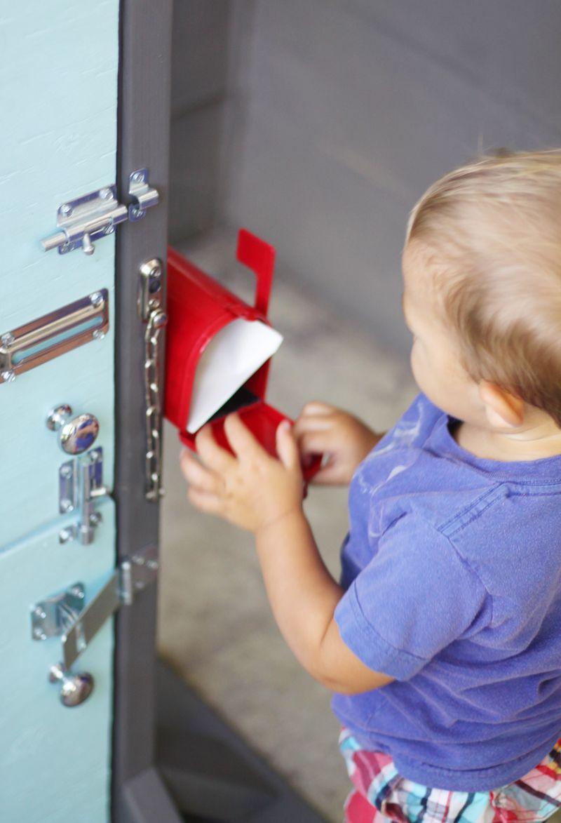 Diy mailbox toy