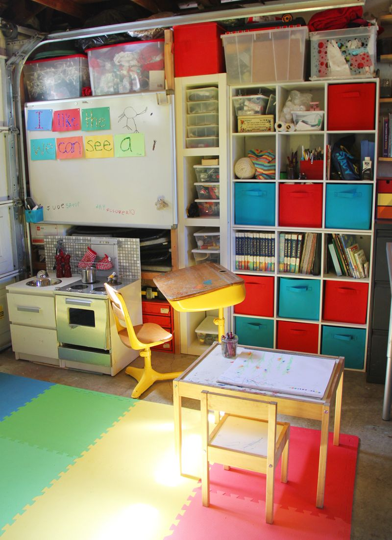 Family craft room