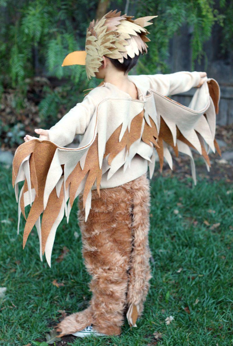 Handmade griffin costume
