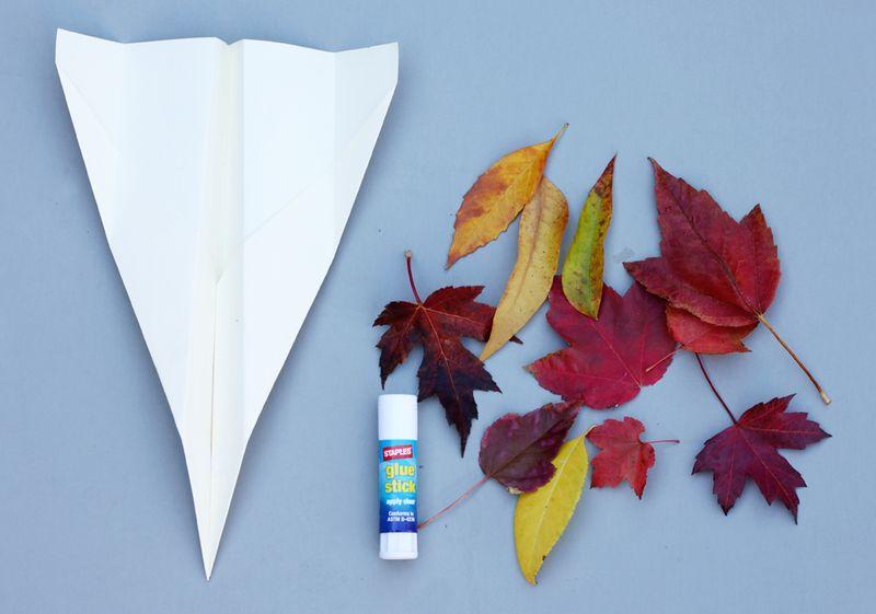 How to make a leaf plane