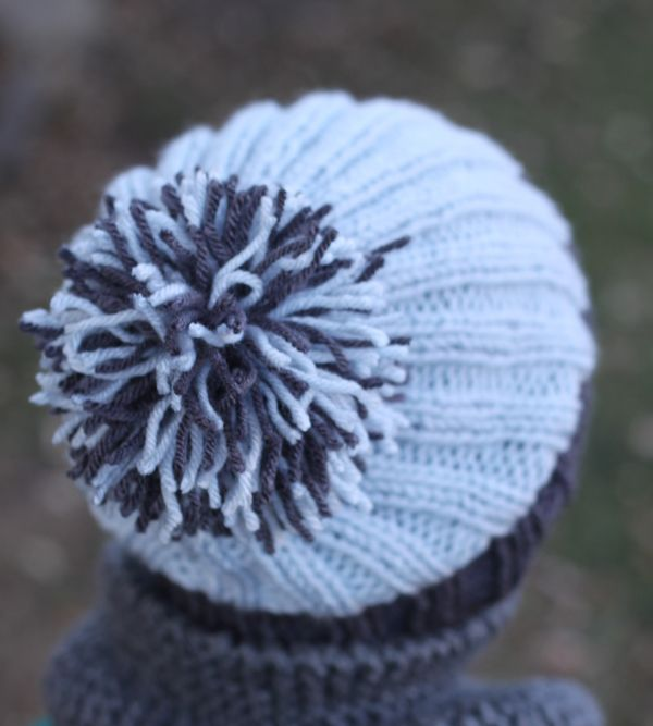 Small Friendly Free Pattern Simple Ribbed Knit Hat