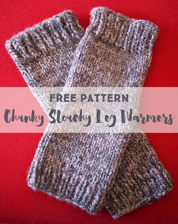 Free leg warmer pattern