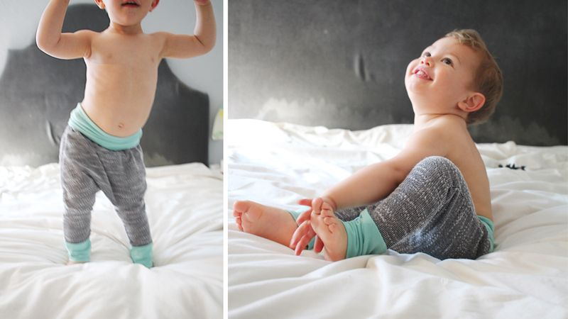 Free baby leggings pattern