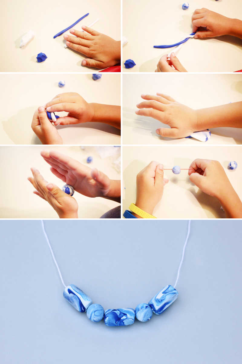 How to make beads with kids