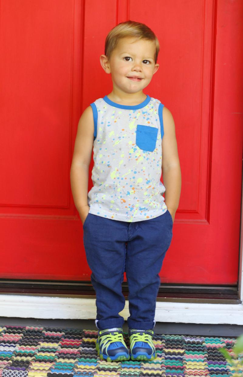 Sweet little preschooler