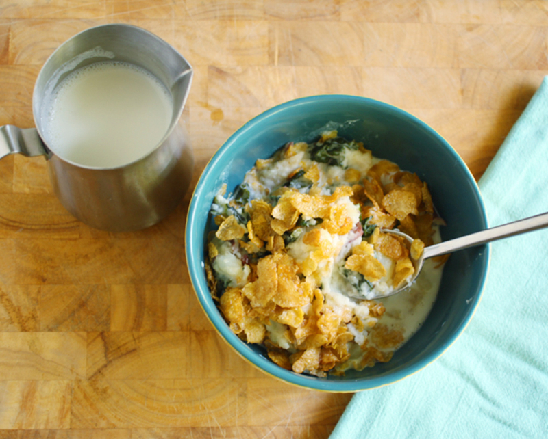 Night cereal fun dinner recipe