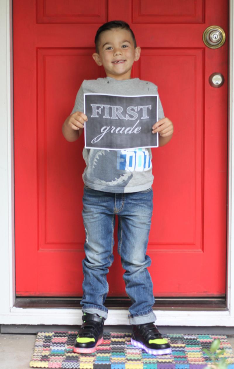 Jude first grade