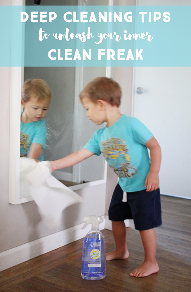 Unleash your inner clean freak