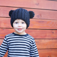 Free knit pattern bulky ribbed beanie