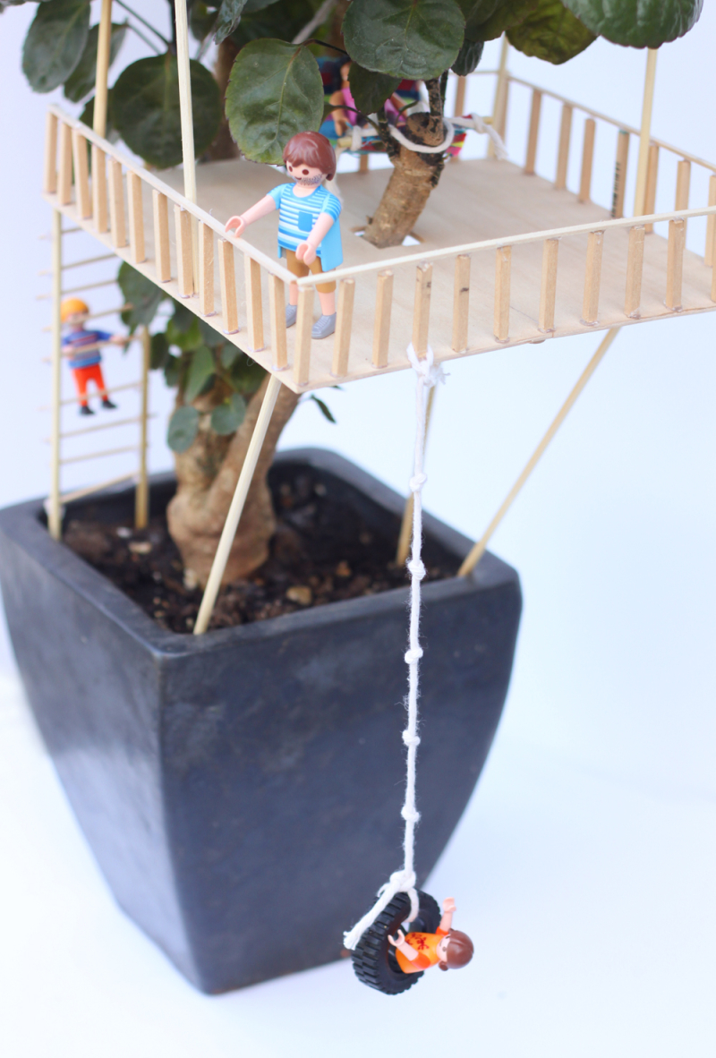 Diy mini treehouse