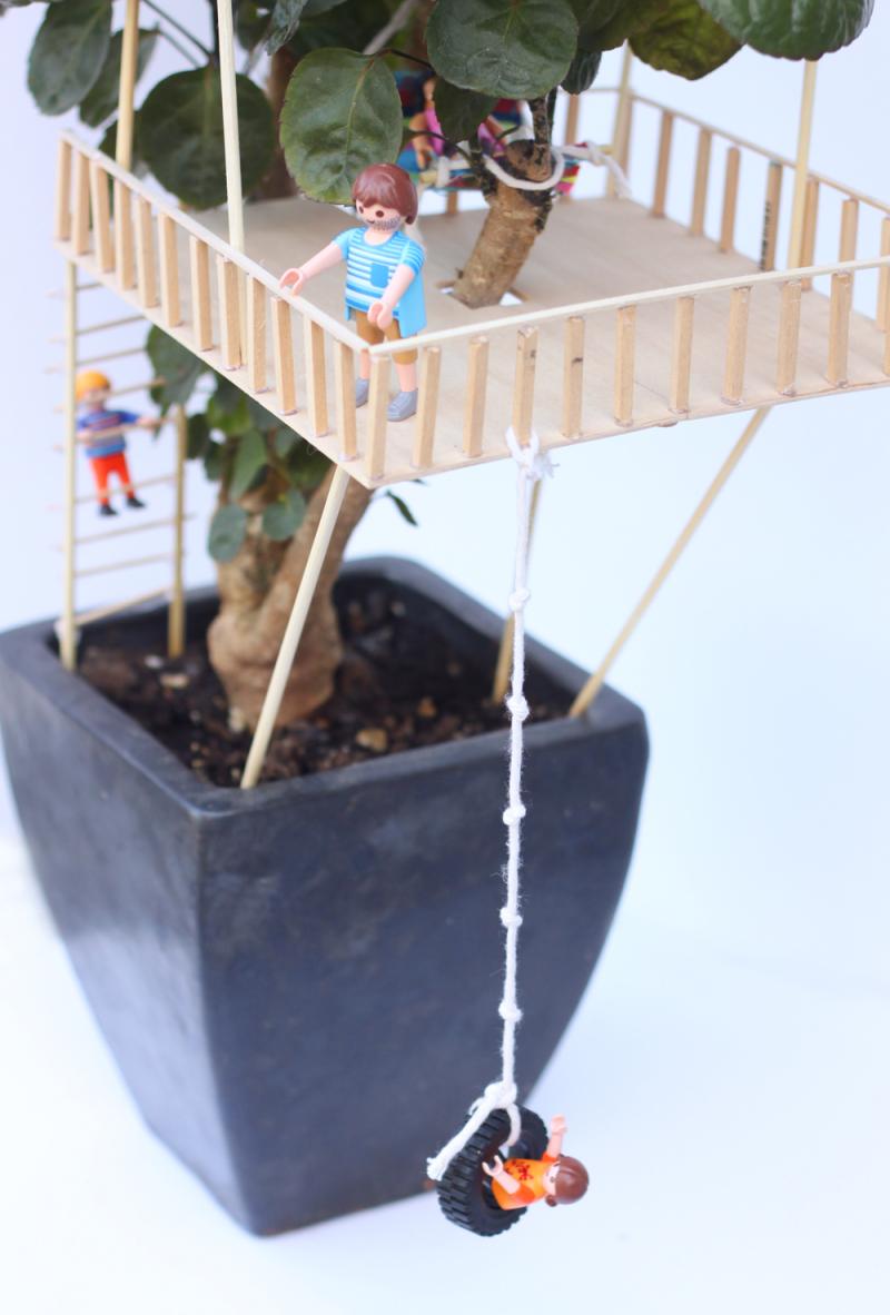 Diy mini treehouse