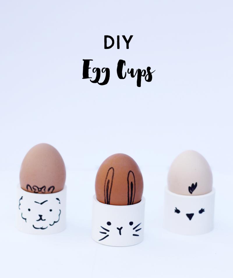 Diy egg cups
