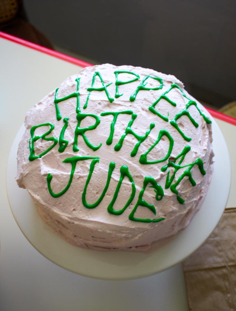 Diy harry potter party-cake