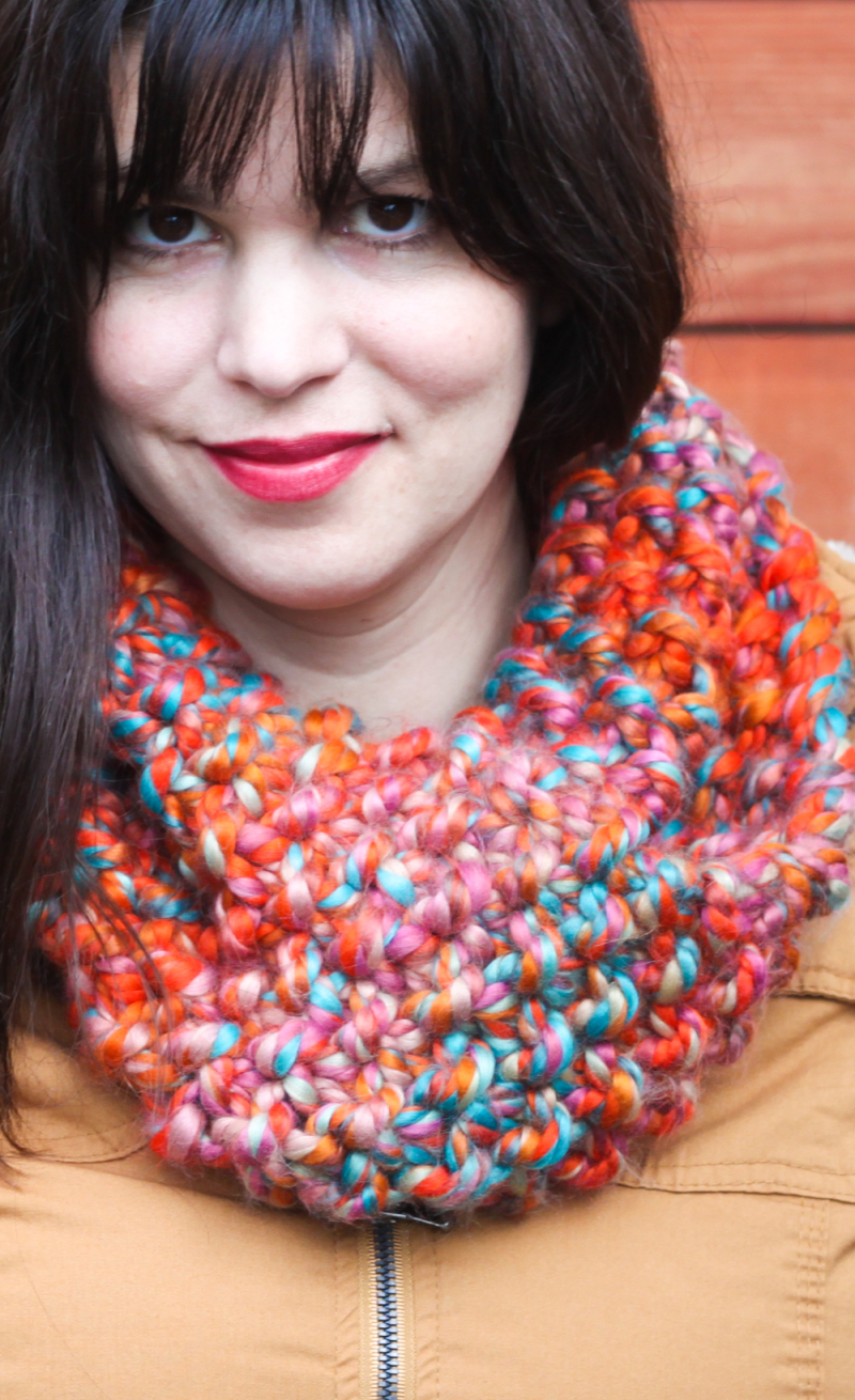 Free cowl knitting pattern-5